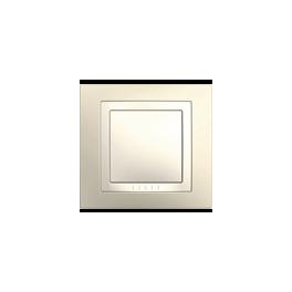 Unica Беж Выключатель 1-клавишный 2-полюсный 10A