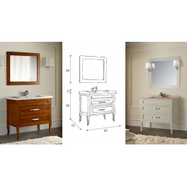 Мебель для ванной комнаты Orion от Mobili di Castello