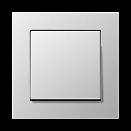 Выключатель одноклавишный A Creation 500 пластик /  Алюминий