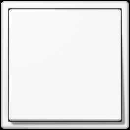 Выключатель одноклавишный LS 990 / Белый