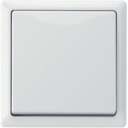 Выключатель одноклавишный M-Artec  Полярно-белый