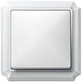 Выключатель одноклавишный M-Antique Полярно-белый